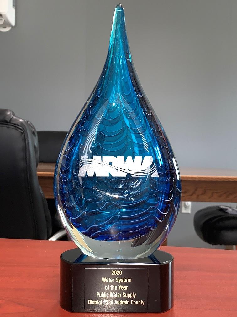MRWA 2020 Award